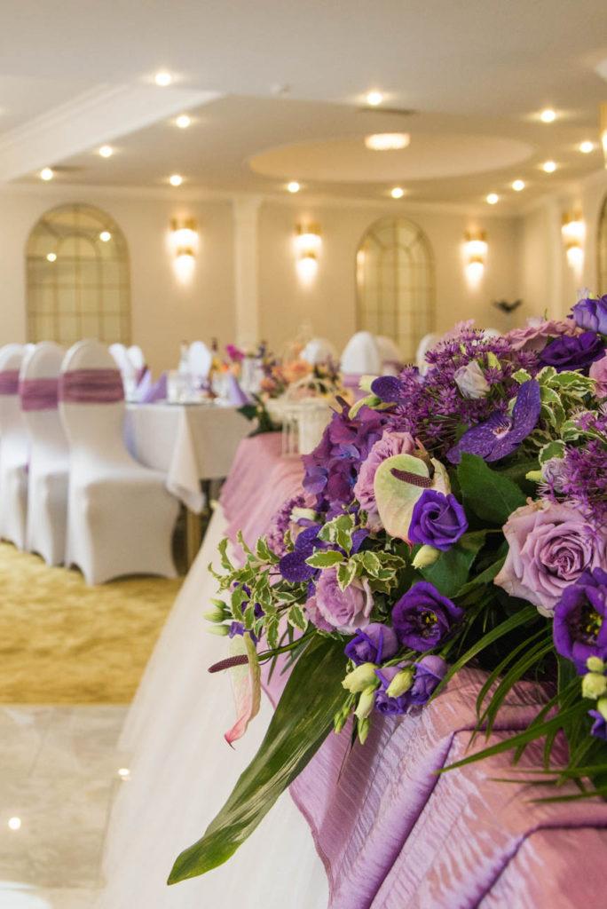 Sala Mică restaurant nunți Mureș